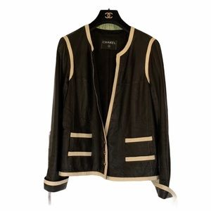 CHANEL Boutique Leather Jacket